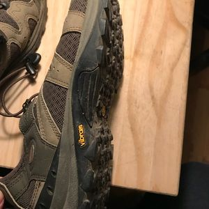 River shoes with Vibram soles